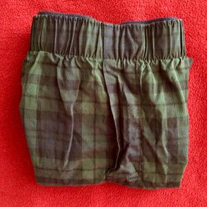 NEW! 2/$12 GAP blackwatch plaid boxers